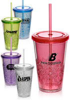 16 oz. Freezer Double Wall Acrylic Tumblers