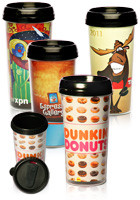 Plastic Travel Mugs