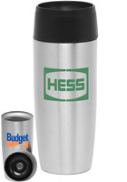 16oz. Stainless Steel Push Top Travel Mugs