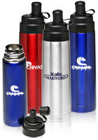 Push Top Sports Bottles
