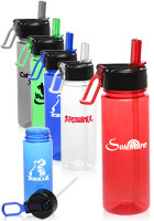 22 oz. Plastic Sports Bottles