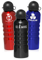 25 oz. Shiny Stainless Steel Water Bottles
