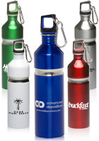 27 oz. Curve Grip Stainless Steel Water Bottles