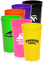 32 oz. Plastic Stadium Cups
