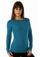 5.4 oz Next Level NL8001 Ladies Soft Thermal Long Sleeve T-Shirt