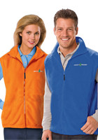 #BGEN9953 Custom Adult Polar Fleece Vests