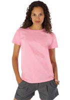 978 - Anvil 5.4oz Cotton Short Sleeve Ladies Crewneck Heavyweight Tee
