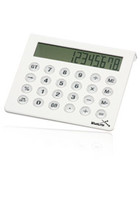 12 Digit White Desktop Calculators